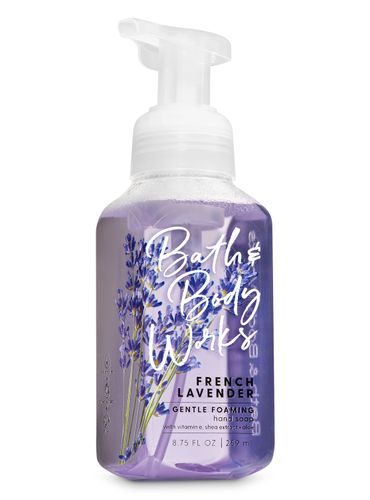 Jabon-en-Espuma---French-Lavender---Bath---Body-Works