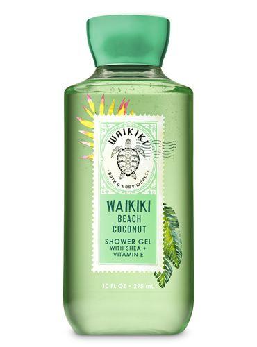 Gel-de-Ducha---WAIKIKI-BEACH-COCONUT---Bath---Body-Works