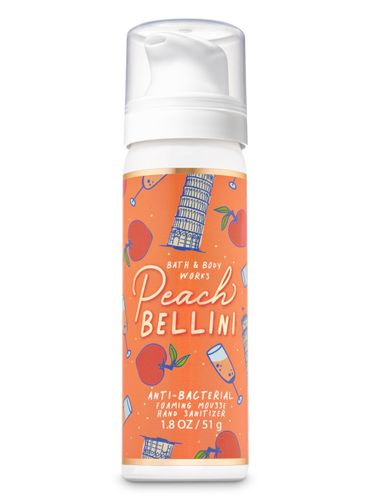 Peach-Bellini---Antibacterial-en-Espuma---Bath---Body-Works