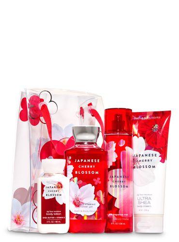 Japanese-Cherry-Blossom---Set-de-Regalo---Bath---Body-Works