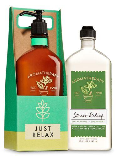 Eucalyptus-Spearmint-Set-de-Regalo-Bath---Body-Works