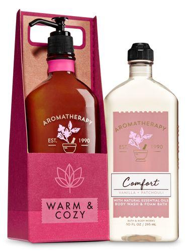 Vanilla-Patchouli-Set-de-Regalo-Bath---Body-Works