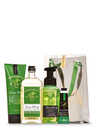 Set-de-Regalo-Eucalyptus-Spearmint-Bath-and-Body-Works
