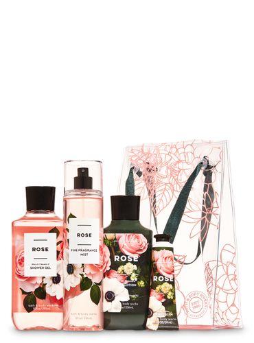 Set-de-Regalo-Rose-Bath-and-Body-Works