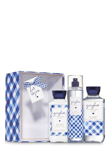 Set-De-Regalo-Gingham-Bath-and-Body-Works
