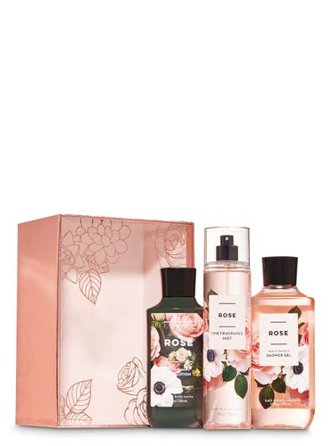 Set-De-Regalo-Rose-Bath-and-Body-Works