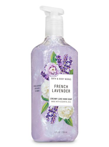 Jabon-Cremoso-French-Lavender-Bath-and-Body-Works