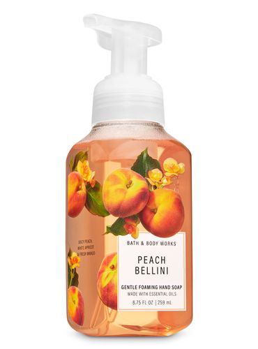 Jabon-en-Espuma-Peach-Bellini-Bath-and-Body-Works