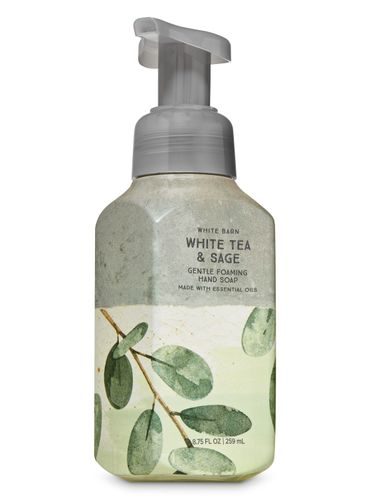Jabon-en-Espuma-White-Tea-And-Sage-Bath-and-Body-Works