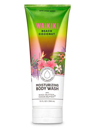 Gel-De-Ducha-Cremoso-Waikiki-Beach-Coconut-Bath-and-Body-Works