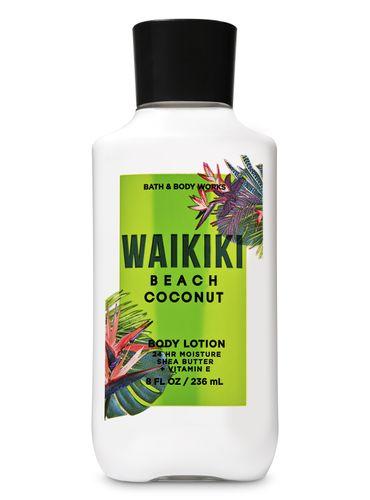 Crema-Liquida-Corporal-Waikiki-Beach-Coconut-Bath-and-Body-Works