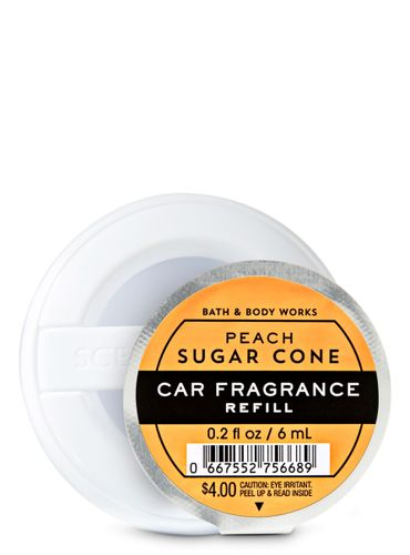 Peach-Sugar-Cone-Fragancia-Para-Auto-Bath-And-Body-Works