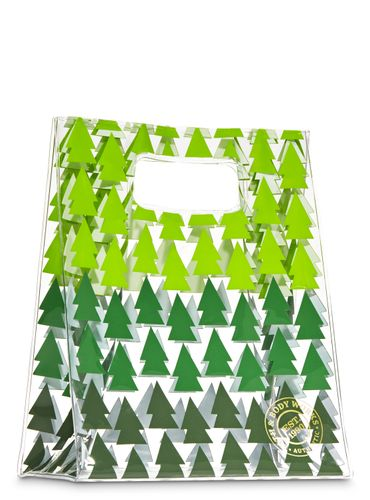 Bolsa-Para-Regalo-Green-Tree-Dot-Bath-And-Body-Works