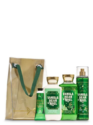 Set-De-Regalo-Vanilla-Bean-Noel-Bath-And-Body-Works