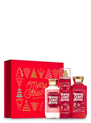 Set-De-Regalo-Winter-Candy-Apple-Bath-And-Body-Works