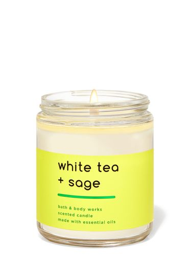 Vela-Mediana-White-Tea-And-Sage-Bath-and-Body-Works