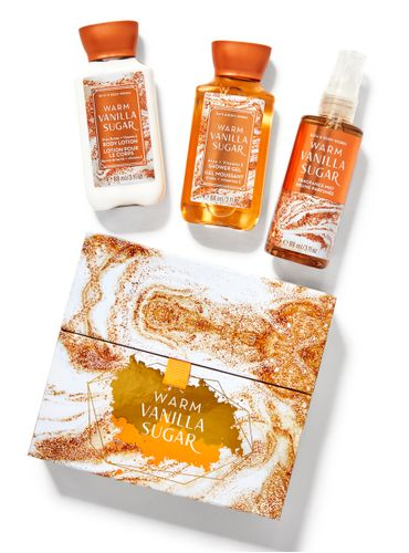 Set-de-Regalo-Travel-Warm-Vanilla-Sugar-Bath-and-Body-Works